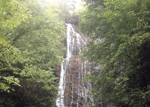 Mingo Falls in Cherokee