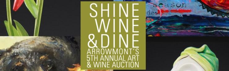 Arrowmont's Shine, Wine & Dine dinner May 26, 2016