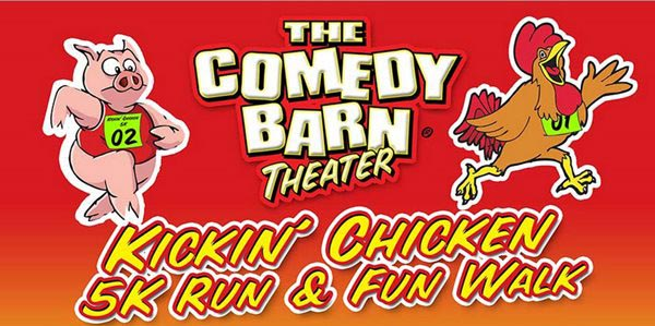 The Comedy Barn's Kickin Chicken 5K Run and Fun Walk