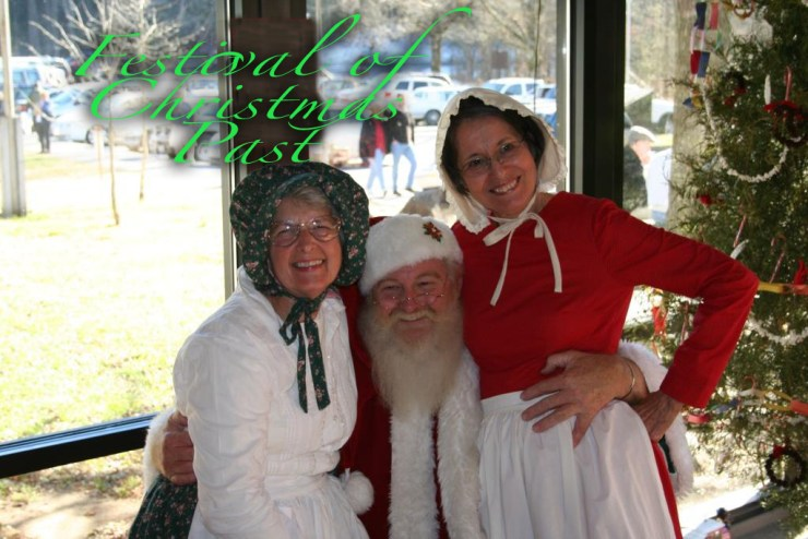 Meet Saint Nick at the Festival of Christmas Past in Great Smoky Mountains National Park