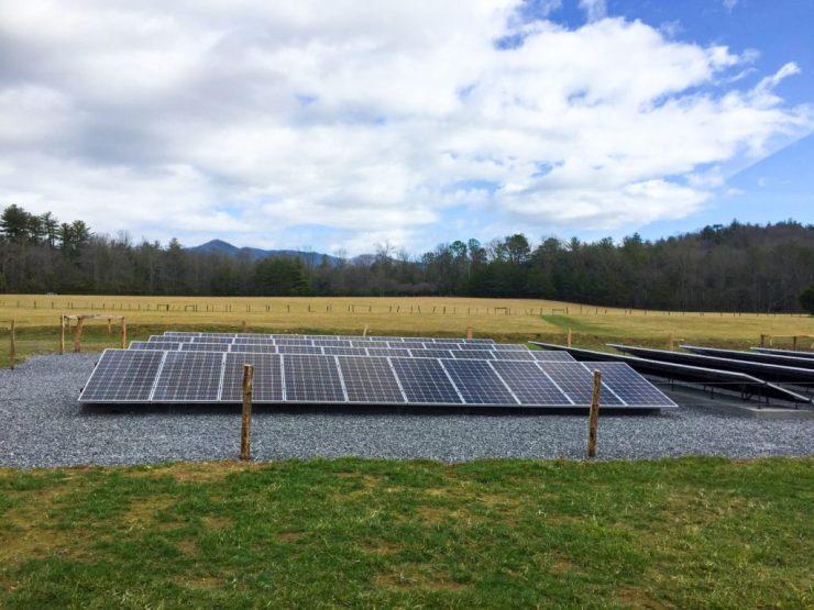 Cades Cove solar array