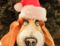 A holiday hound dog is a must for a Volunteer holiday.