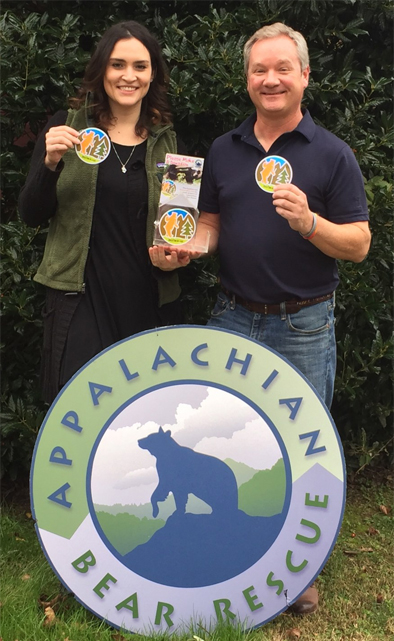 HeySmokies.com donation box program benefits Appalachian Bear Rescue! Give us a hand rescuing orphaned bear cubs!