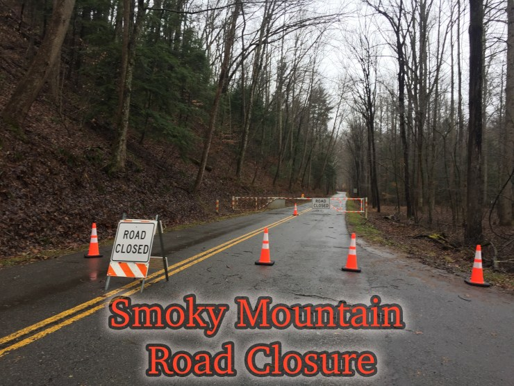 Smoky Mountain road closures.