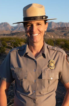 New Smoky Mountain chief ranger Lisa Hendy is hired. Photo credit - GSMNP.