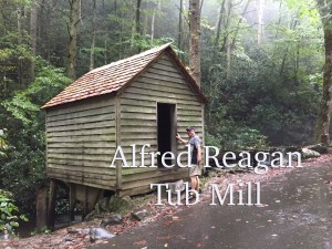The Alfred Reagan tub mill in the Cherokee Orchard is a great stop on this scenic drive.