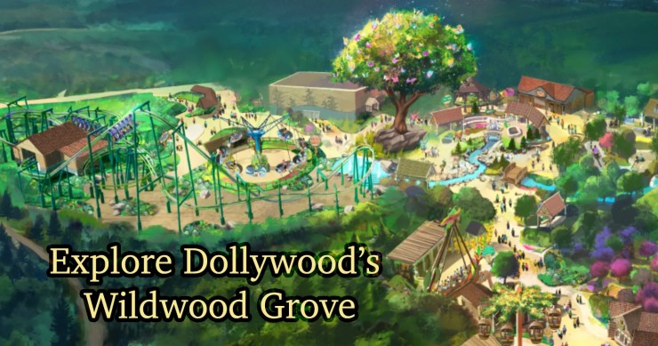 Dollywood's Wildwood Grove is a true family adventure!
