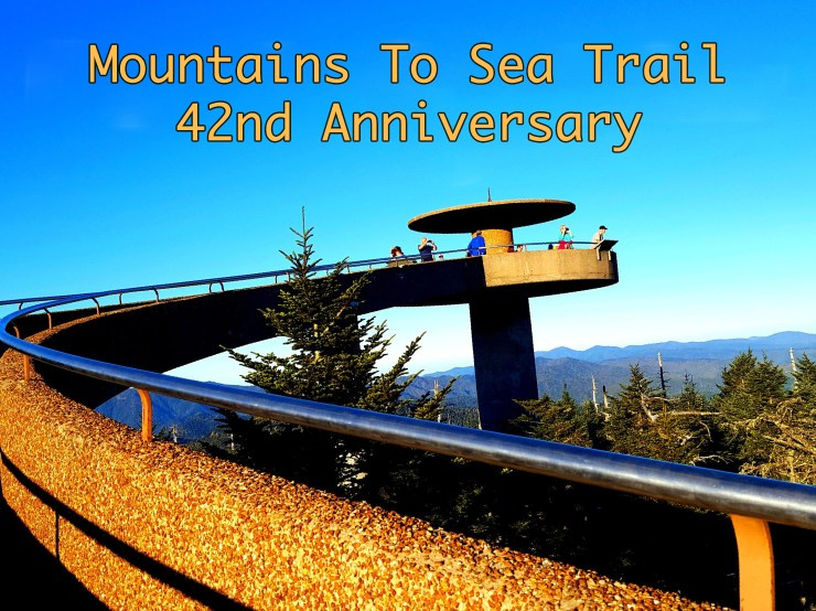 The mountains so sea trail (MST) begins at the iconic Clingmans Dome observation tower.