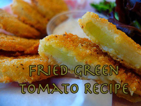 HeySmokies.com's fried green tomato recipe hit's the spot!