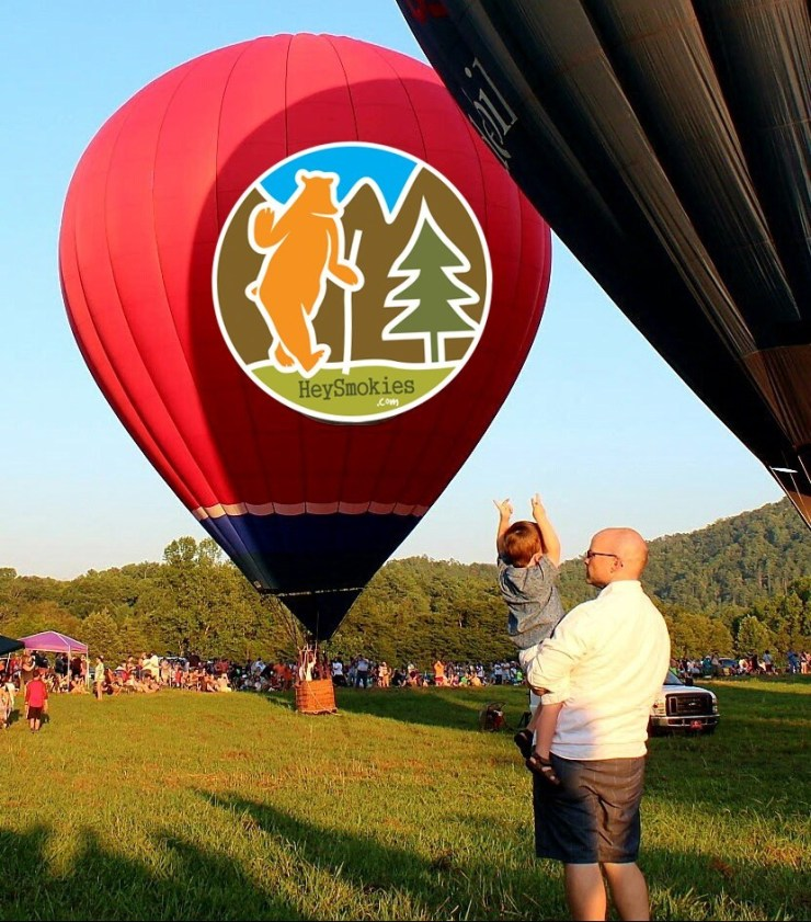 Smoky Mountain Hot Air Balloon Festival will be fun for the entire family. Photo credit - gsmballoonfest.com.