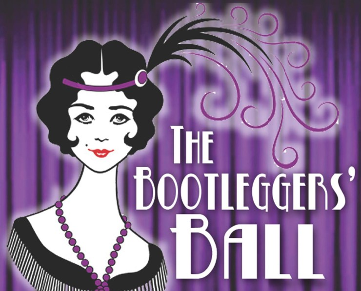 The New Years eve Bootleggers' Ball will be a roaring good time!
