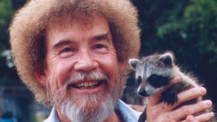 Bob Ross' love of wildlife often inspired his art.