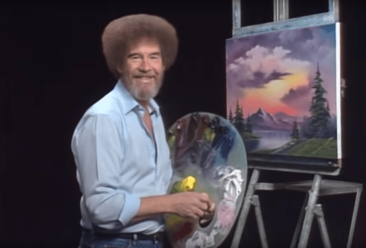 Bob Ross inspired generations to learn to paint!