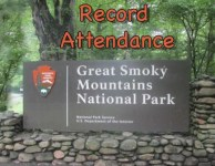 Great Smoky Mountains breaks all national park attendance records!