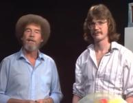Bob Ross and his son Steve.