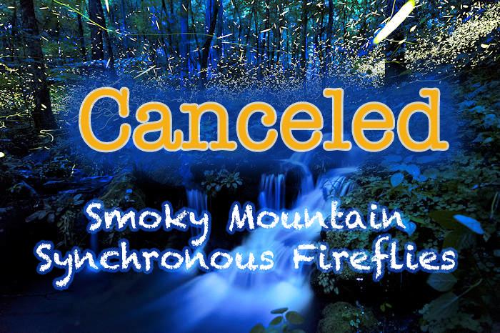 Smoky Mountain firefly event canceled.