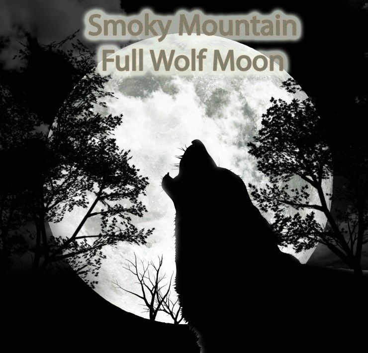Smoky Mountain full wolf moon is on the rise!
