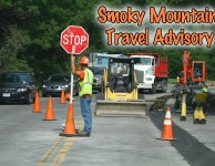 Smoky Mountain road closures set to snarl traffic.