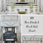 DIY Flea Market Check Out Stand