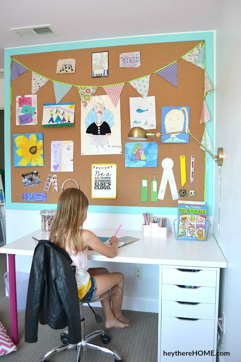 How To Make A Large Cork Board Wall