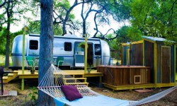 Dixie Daisy Airstream in Wimberley Texas