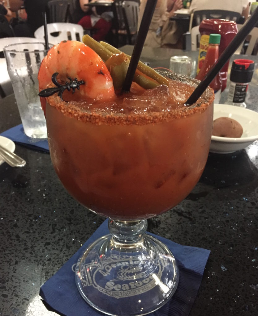 bloody mary at Deanies in NOLA