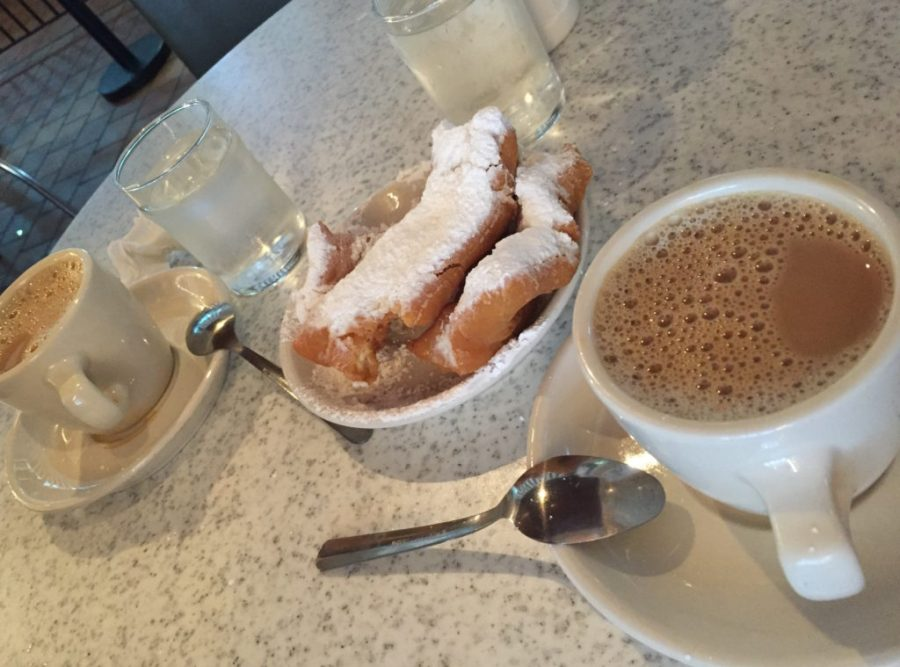 Beignets at Cafe du Monde in NOLA