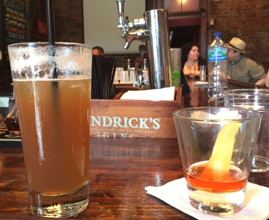 Cocktails at Bar Tonique in NOLA