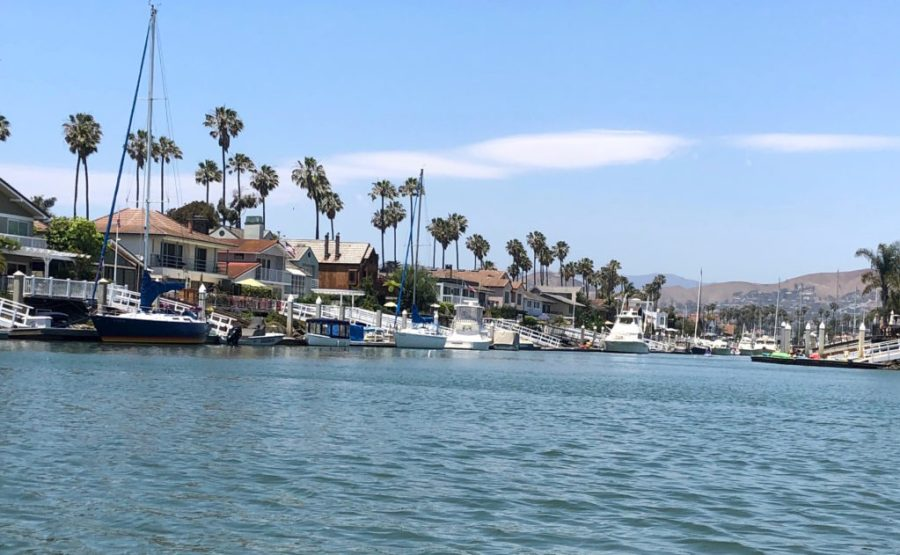 Houses in the Ventura Keys