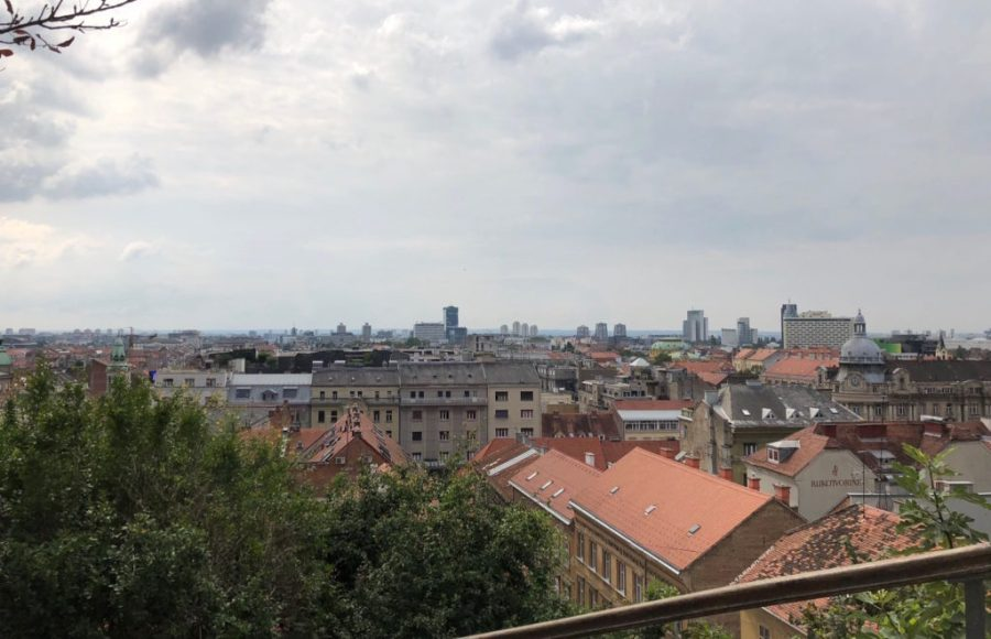 Zagreb rooftops