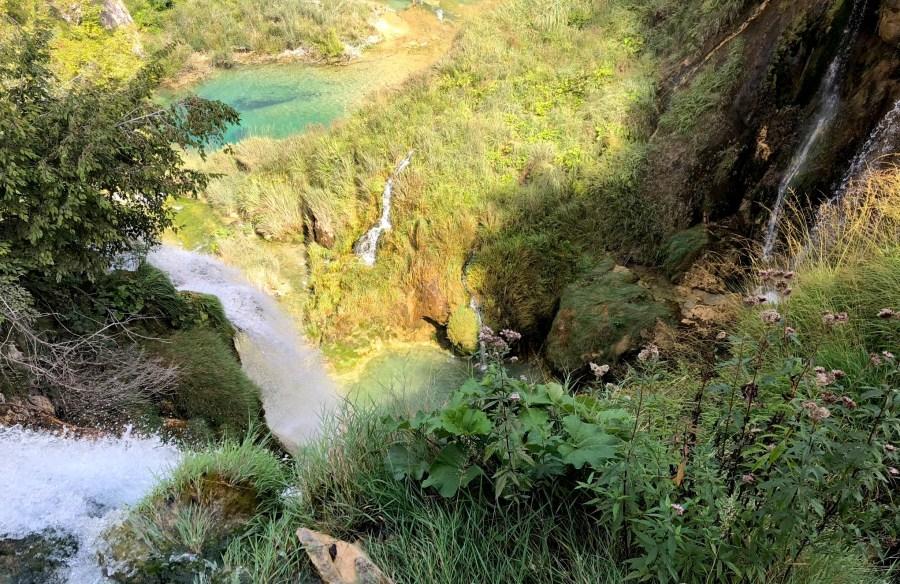 waterfalls at Plitvice Lakes National Park, Croatia