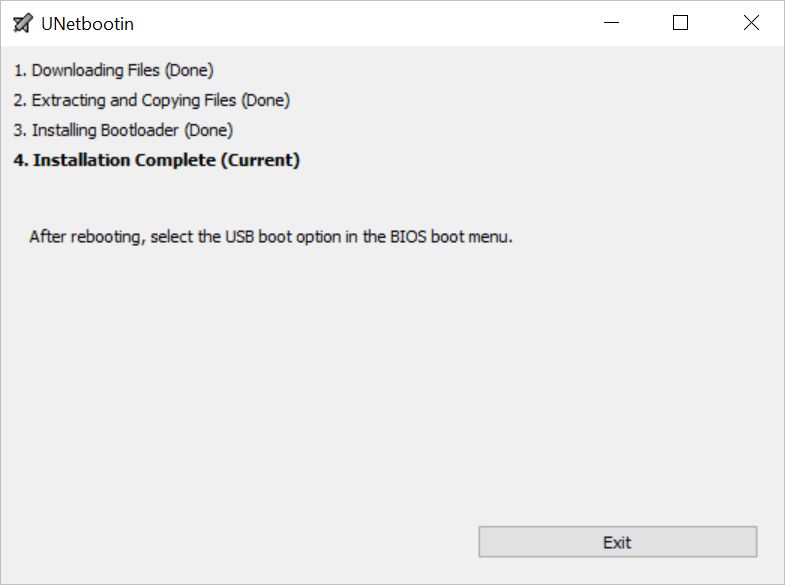Make Any Flashdrive Bootable - Completed the Install