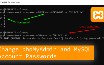 Displayed the message that user will get if the password change was successful or not