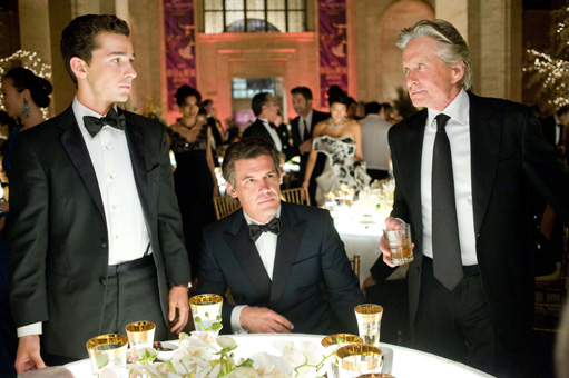 Wall Street 2: Shia LeBouuf, Josh Brolin and Michael Douglas