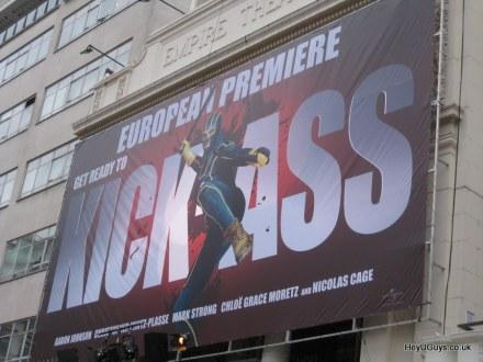 Kick-Ass European Premiere Banner