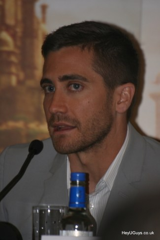 Prince of Persia: The Sands of Time Press Conference - Jake Gyllenhaal