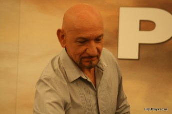 Prince of Persia: The Sands of Time Press Conference- Sir Ben Kingsley
