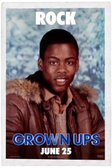 Grownups Poster - Chris Rock
