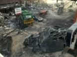 Transformers 3 Action Scene