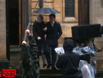 X-Men First Class Set Photos - Oxford-4
