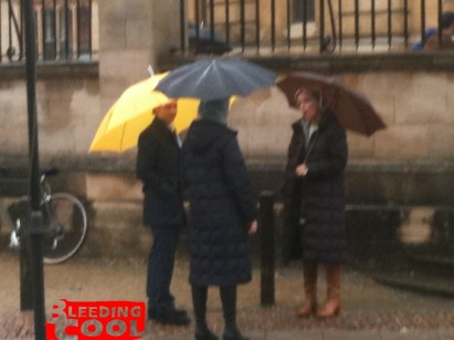 X-Men First Class Set Photos - Oxford