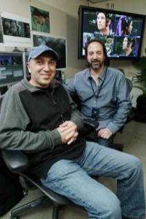 Avatar US Press Day - John Refoua and Stephen Rivkin