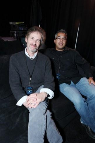 Avatar US Press Day - James Horner and Juan Peralta