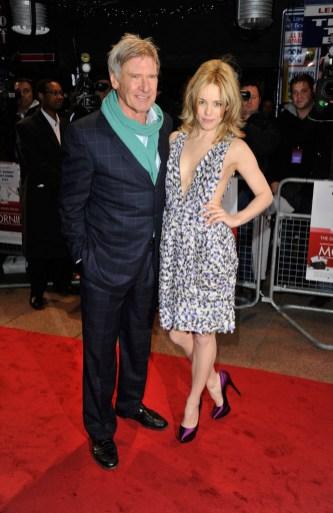 Morning Glory UK Premiere - Rachel McAdams & Harrison Ford