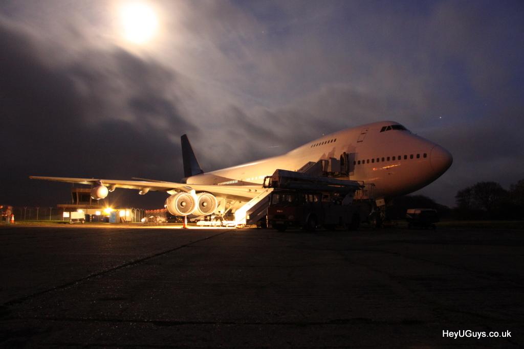 Airborne Set Visit - Feb 2011