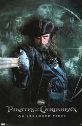 Pirates of the Caribbean Poster - Ian McShane