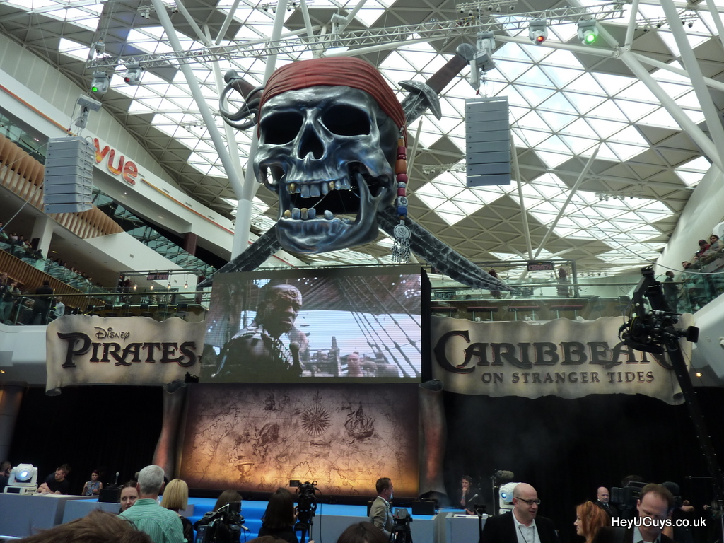 Pirates of the Caribbean: On Stranger Tides - Premiere and Press