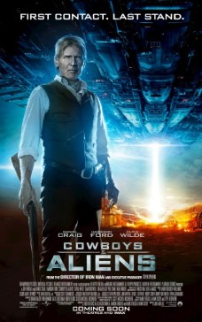 Cowboys and Aliens UK Poster - Harrison Ford