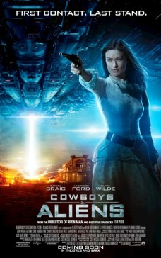 Cowboys and Aliens UK Poster - Olivia Wilde