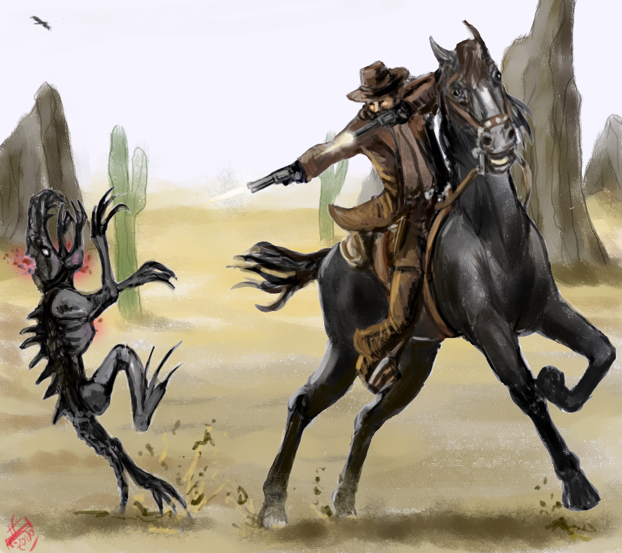 Aliens Vs Cowboys